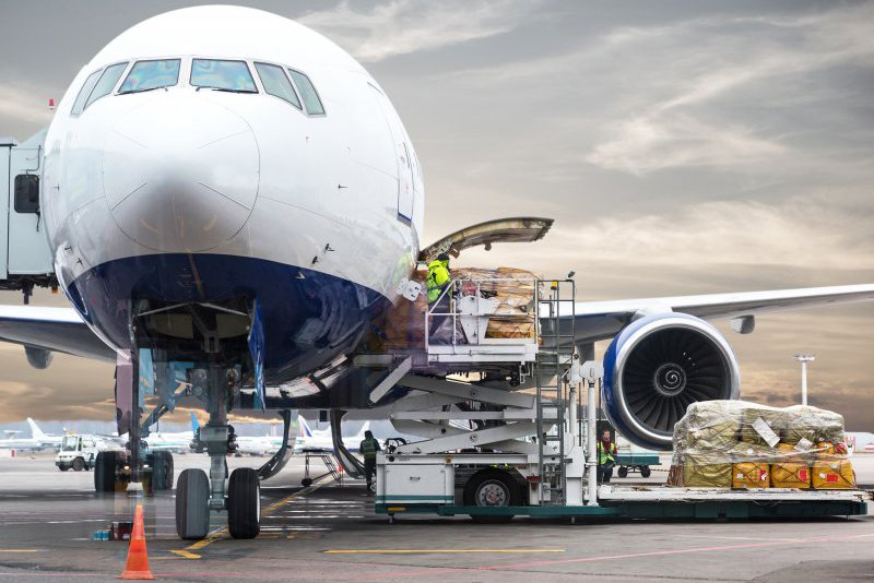 Market situation for air freight to North America under strain