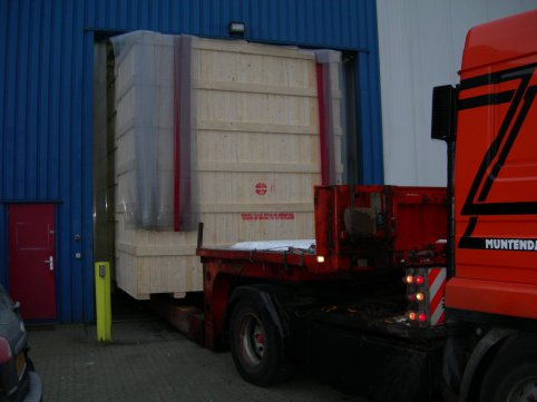Shipment of Mixer 1
